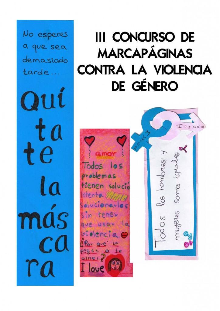 Cartel concurso marcapáginas